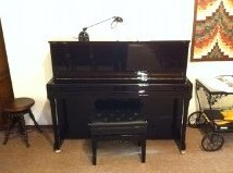 We're grateful for our new (in tune) piano!